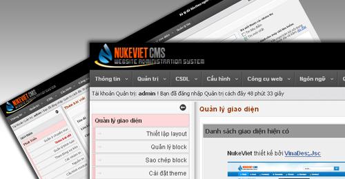 NukeViet ra mắt phiên bản mới đầu tiên trong năm 2012