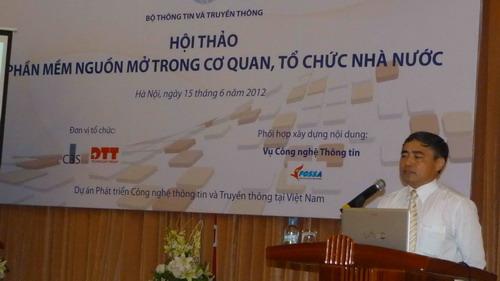 Thứ trưởng Bộ TT&TT Nguyễn Minh Hồng cho biết, cộng đồng CNTT-TT Việt Nam vẫn đang trăn trở vì sao PMNM vẫn chưa thể vượt ngưỡng để phát triển?