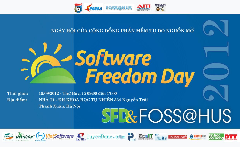 Ngày hội tự do phần mềm năm 2012 sẽ tổ chức tại ĐH Khoa học Tự nhiên