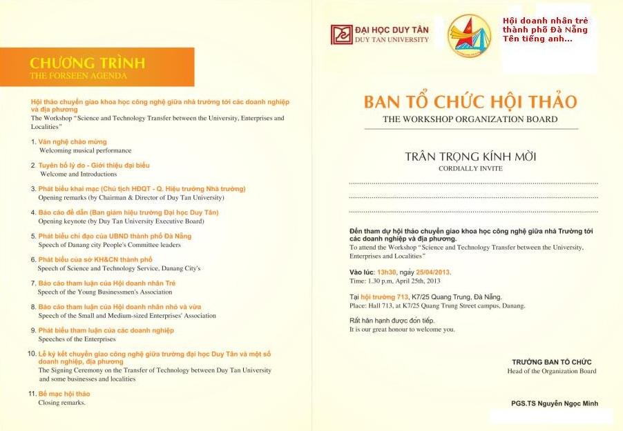 Hội thảo chuyển giao KHCN