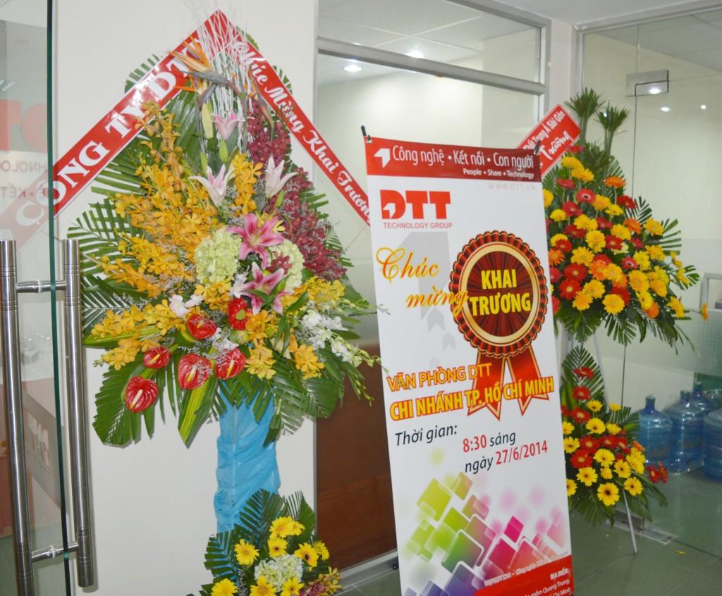DTT Khai trương Văn phòng Thành phố Hồ Chí Minh