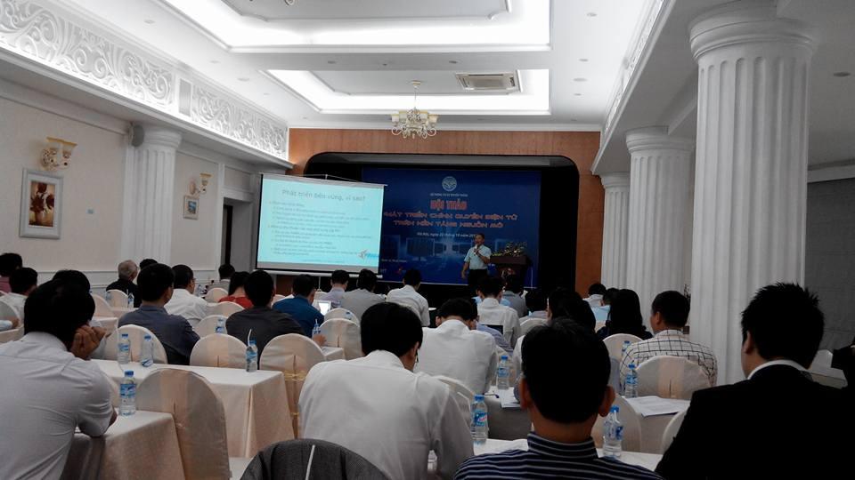 Hội thảo phát triển PMNM trong các cơ quan nhà nước - Một trong những hội thảo thường niên nhằm đẩy mạnh việc ứng dụng PMNM vào các cơ quan nhà nước.