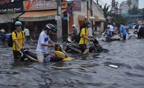 Với CogniCity, người dân có thể cung cấp thông tin về vị trí ngập lụt, kẹt xe để có phương án phòng chống hiệu quả
