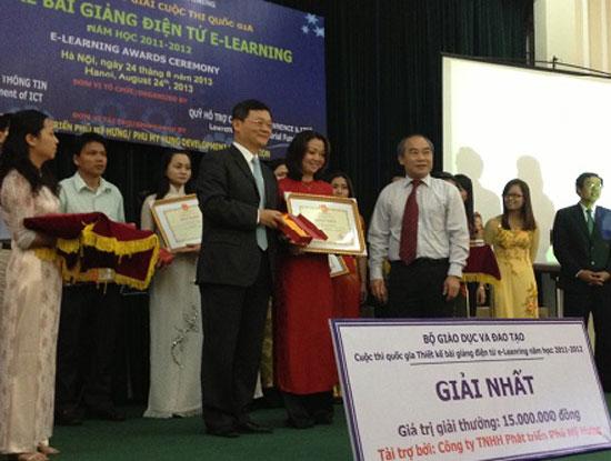 Cuộc thi quốc gia Thiết kế bài giảng e-Learning hướng tới tài nguyên giáo dục mở