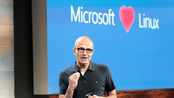 Satya Nadella - CEO Microsoft: Microsoft yêu Linux, nguồn: Microsoft