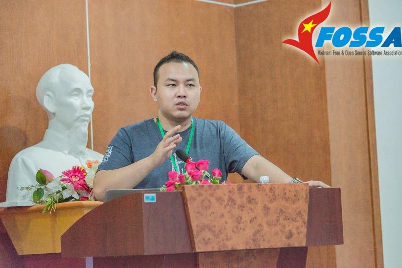 Lê Quang Hiếu - Ban OpenTour của VFOSSA
