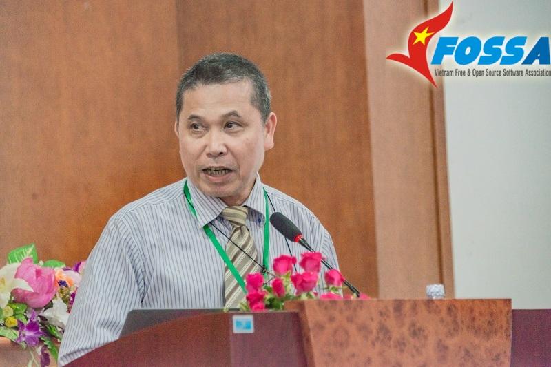 Ts Lê Văn Lợi - Viện trưởng Viện Tin học Doanh nghiệp (Phòng Thương mại và Công nghiệp Việt Nam)