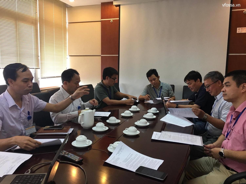 VFOSSA làm việc với Vụ CNTT – Bộ TT&TT về dự thảo văn bản hướng dẫn danh mục dịch vụ CNTT trong cơ quan nhà nước