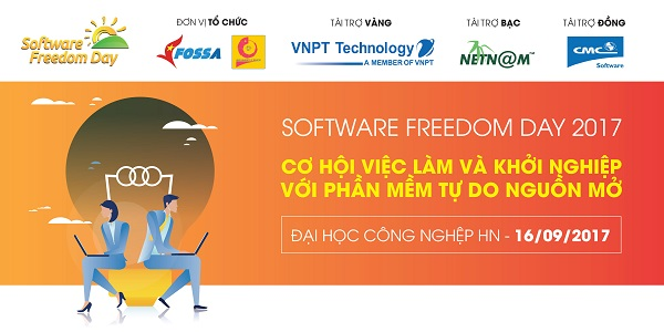 Ngày hội Phần mềm Tự do Nguồn mở năm nay sẽ diễn ra ở Đại Học Công Nghiệp Hà Nội