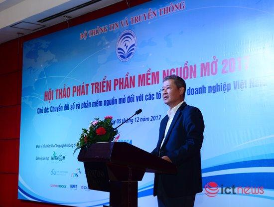 Thứ trưởng Bộ TT&TT Nguyễn Thành Hưng