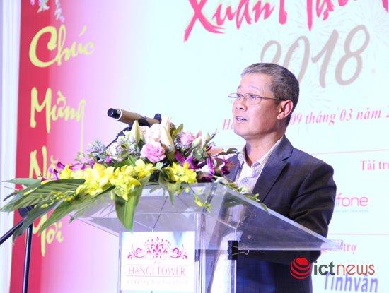 Thứ trưởng Bộ TT&TT Nguyễn Thành Hưng ghi nhận và đánh giá cao sự đóng góp của các hội, hiệp hội và cộng đồng doanh nghiệp CNTT-TT cho việc phát triển của ngành trong thời gian qua.