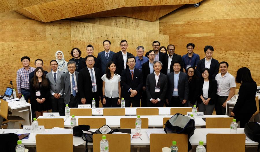 Đại diện các quốc gia tham gia đối thoại AODP 2019
