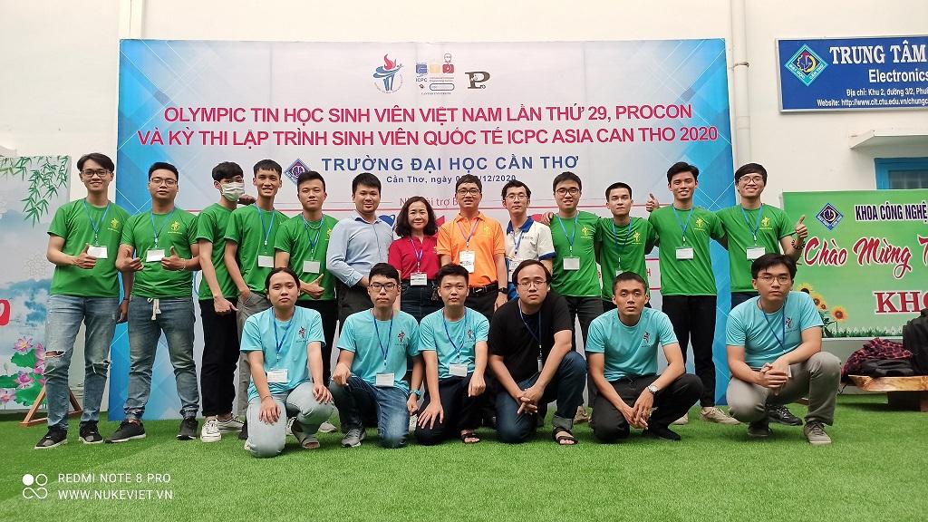 VFOSSA tiếp tục đồng hành cùng Ban tổ chức Cuộc thi Olympic Tin học Sinh viên toàn quốc (OLP) - hạng mục Phần mềm nguồn mở