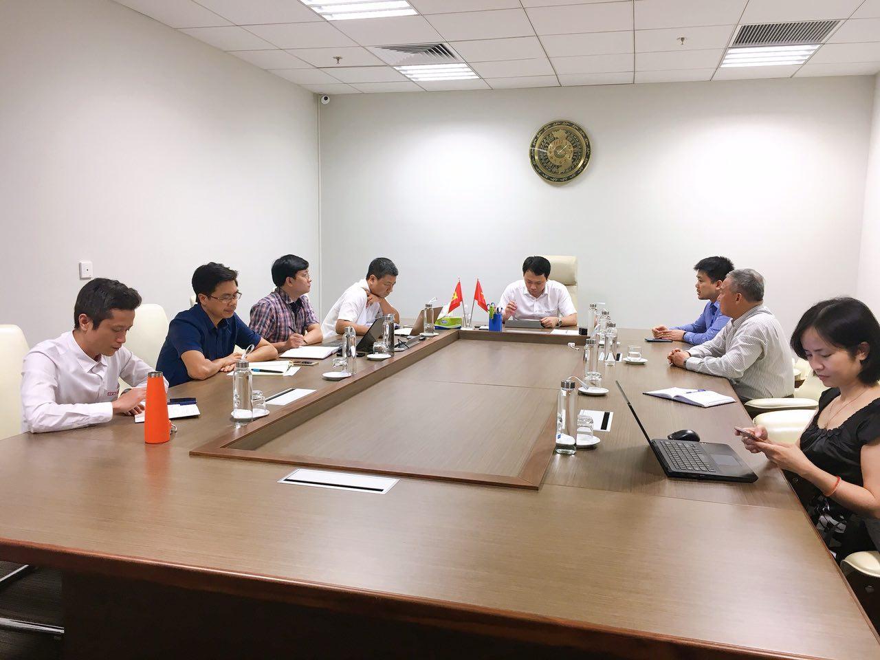 VFOSSA làm việc với Cục Tin học hóa - Bộ Thông tin và Truyền thông bàn về vấn đề phát triển nguồn mở tại Việt Nam