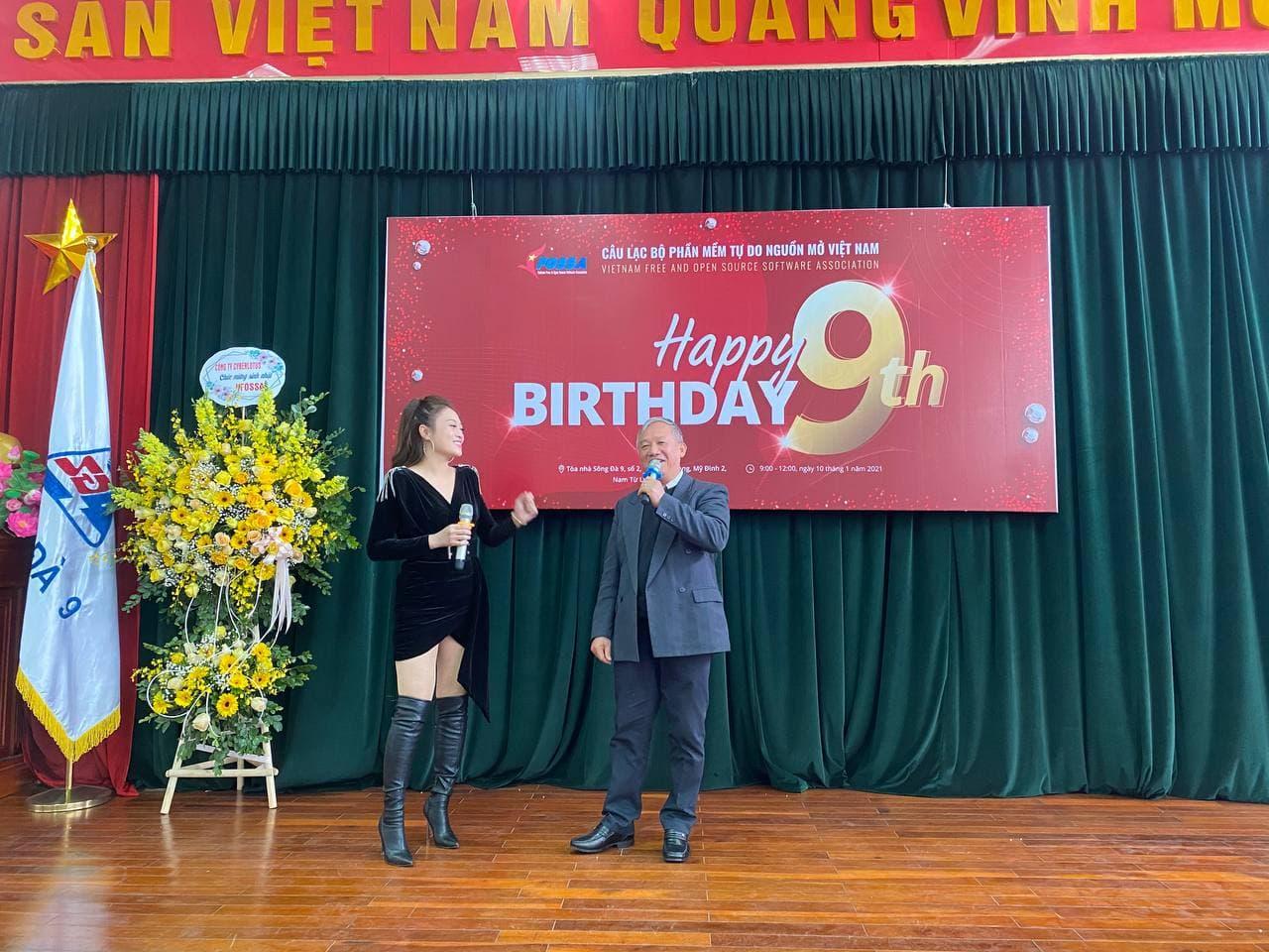 Liên hoan văn nghệ mừng sinh nhật VFOSSA