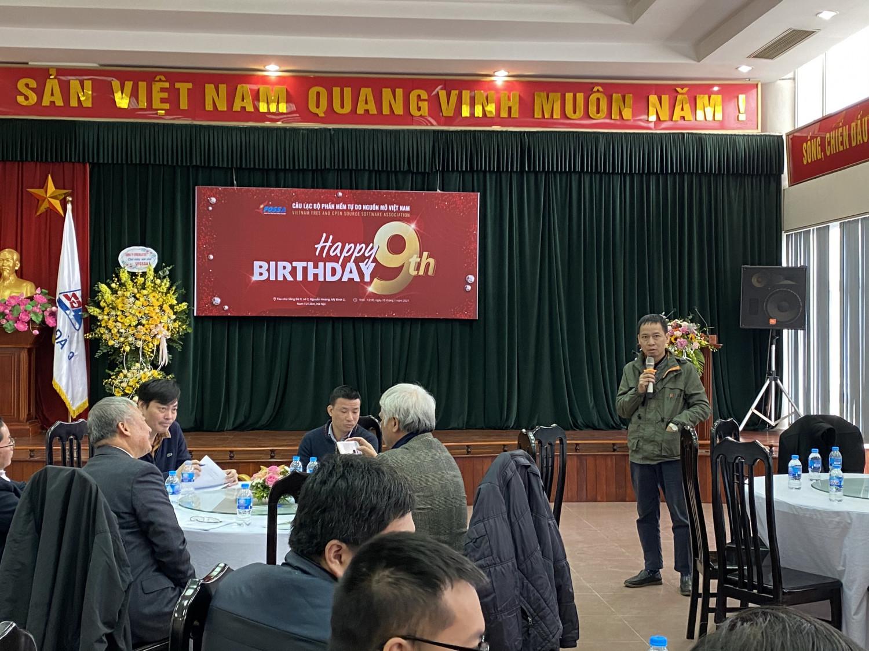 Ông Lưu Văn Hậu phát biểu tại sự kiện