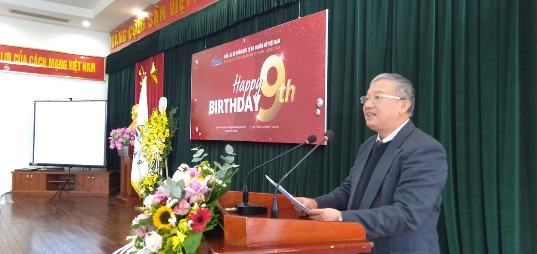 Ông Nguyễn Hồng Quang phát biểu tổng kết năm 2020