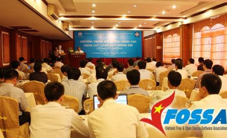 Bồi dưỡng nâng cao năng lực lãnh đạo thông tin trong doanh nghiệp (CIO) Quảng Ninh