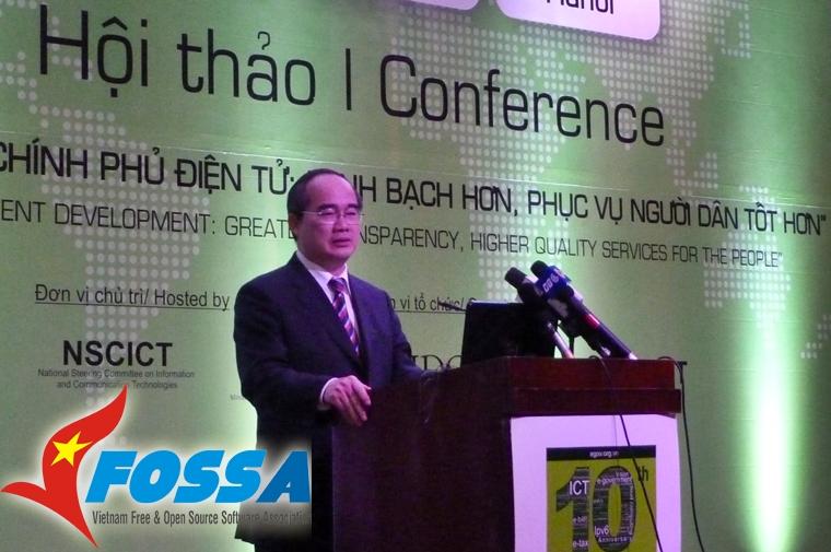 Phó Thủ tướng Nguyễn Thiện Nhân phát biểu chỉ đạo Hội nghị