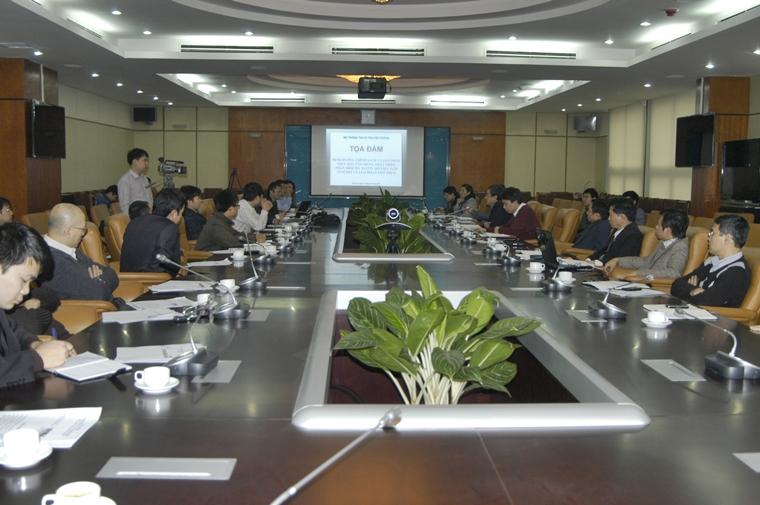 Nội dung Tọa đàm định hướng chính sách và giải pháp thúc đẩy ứng dụng, phát triển PMNM Việt Nam
