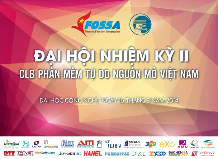 Nghị quyết Đại hội Đại biểu toàn quốc của VFOSSA lần thứ hai